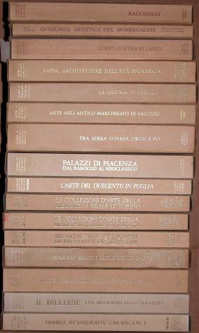 lotto n. 16 volumi arte Istituto Bancario San Paolo di Torino