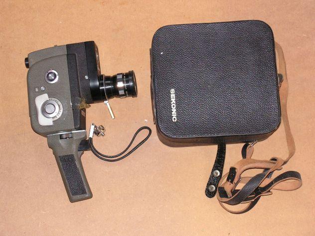 Cinepresa vintage 8mm a molla SEKONIC