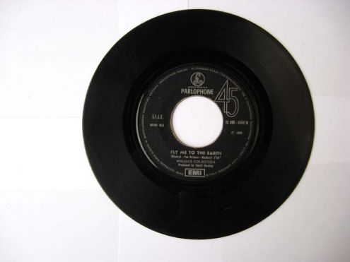 45 giri del 1969-Wallace Collection-fly to the earth - Foto 2
