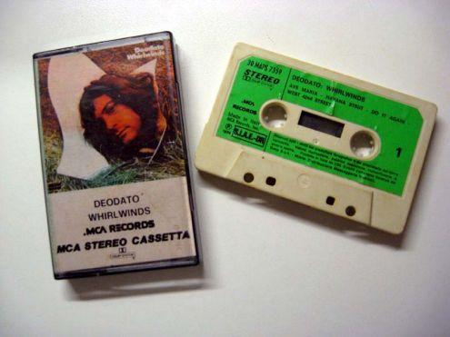Musicassetta originale del 1974-Deodato Whirwinds