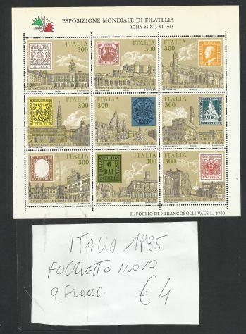Italiani francobolli nuovi