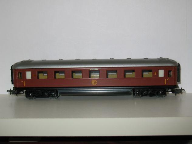 Marklin H0 - 4020 SJ - Carrozza passeggeri Ferrovie svedesi