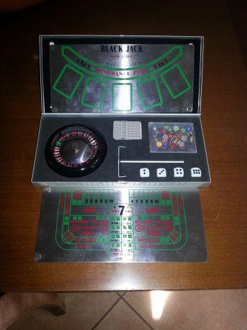 1 Scatola Come Nuova Con 3 Mini Giochi Da Tavolo/Viaggio Roulette,Blac