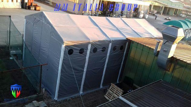 BOX CAMPER  4 X 8 ChiaraLuce CamperObló Professionali Pvc - Foto 8