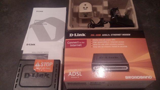 Modem ADSL + ethernet D-LINK