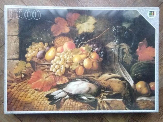 Puzzle 1000 pz 75x50cm Diset soggetto dipinto natura morta
