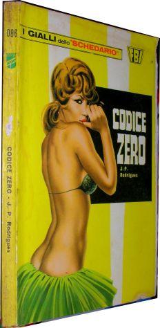 I gialli dello schedario 086 Codice Zero J.P. Rodrigues   Editore: Wamp anno 197