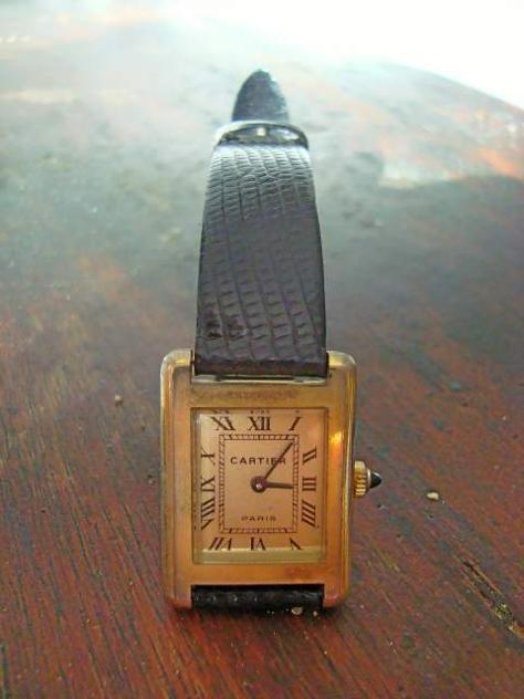 Antico orologio cartier edizione numerata - Foto 4