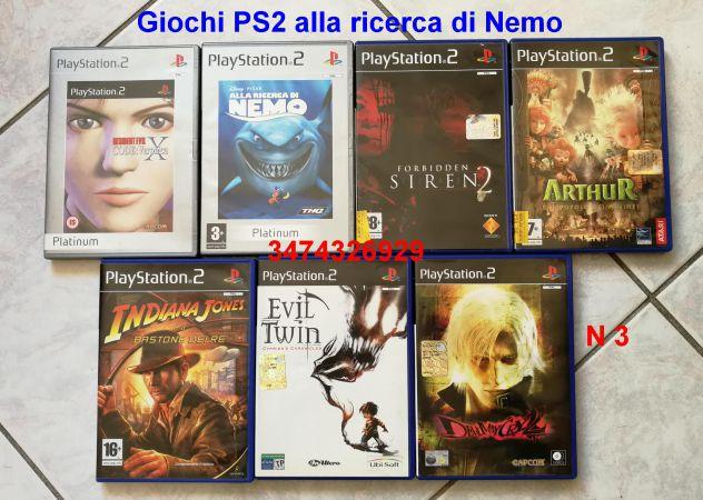 Giochi PS2 alla ricerca di Nemo