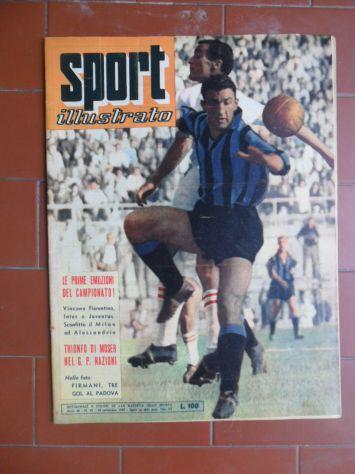 LO SPORT ILLUSTRATO DEL 24-9-1959 - ALDO MOSER TRIONFA NEL GRAN PREMIO DELLE NAZ