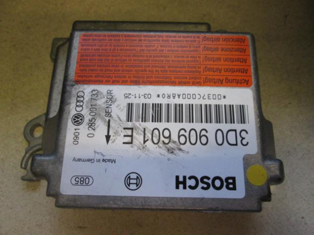 VOLKSWAGEN TOUAREG 2.5 5M 128KW (2004) KIT AIRBAG COMPLETO CRUSCOTTO GUIDA  … - Foto 2