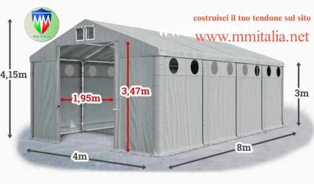Coperture per rimessaggio Camper 4 x 8  Mt. MM Italia  Group Technology