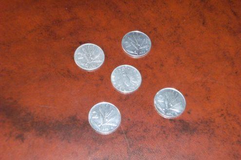 Monete Repubblica Italiana - 2 £ Olivo -