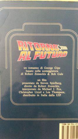 Romanzo Ritorno al Futuro 1985 Longanesi prima ediz. - Foto 2