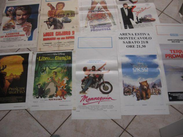 LOCANDINE A COLORI  70X30 ORIGINALI VECCHI FILM