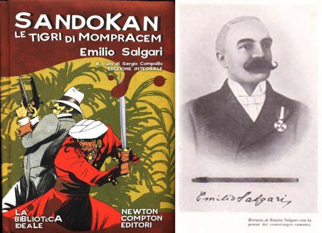 Sandokan le tigri di mompracem, Emilio Salgari, Newton Compton Editori 2008.