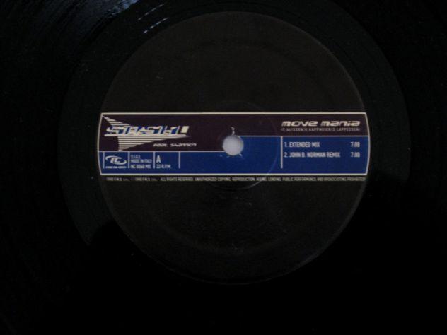 33 giri originale del 1998 – SASH! Feat Shannon- MOVE MANIA - Foto 3