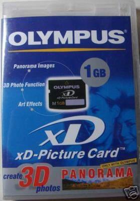 Olympus xd 1gb m+ type (nuova)