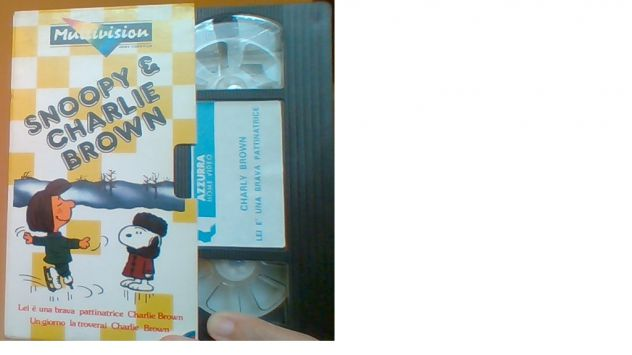 1 vhs originale Snoopy & Charlie Brown Multivision - Foto 3