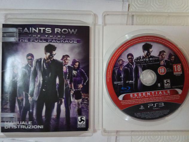 Sony Playstation 3 PS3 Saints Row pal ita
