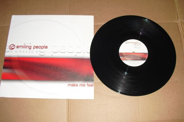 "SMILING PEOPLE  - MAKE ME FEEL – EP 12"" MIX"