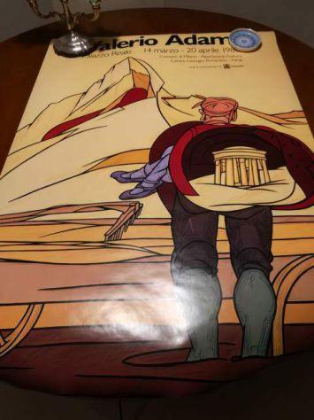 Poster Ascensione di Valerio Adami