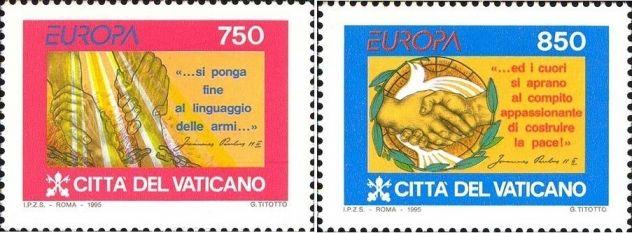 Francobolli nuovi annata 1995 Vaticano - Foto 2