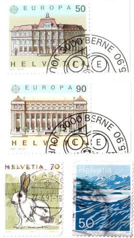 Francobolli da collezione Svizzera - Foto 5