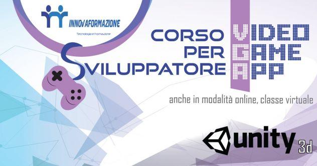 Corso Unity 3D ONLINE Programmazione Videogiochi Videogames APP
