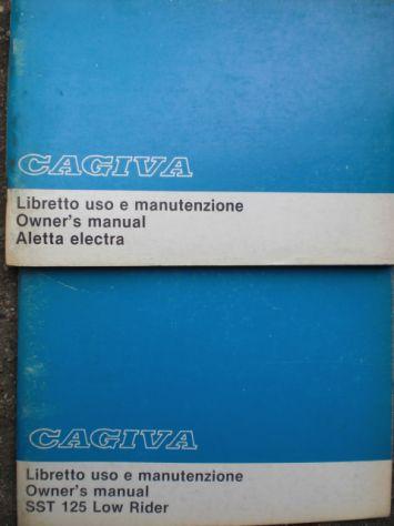 Cagiva manuali uso e manutenzione - Foto 4