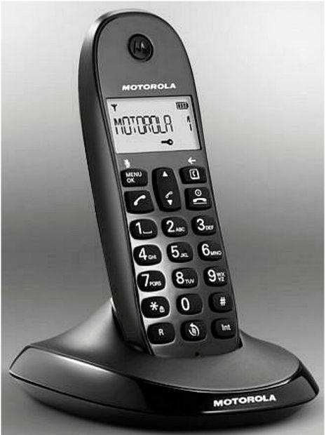 TELEFONO CORDLESS MOTOROLA C 1001 L - Foto 2
