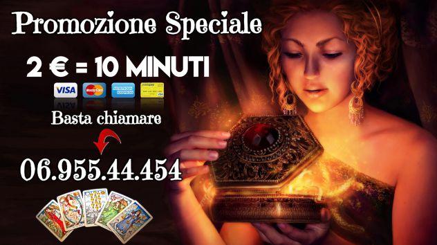 CONSULTO € 2 DI 10 MIN PROMO SPECIALE CARTOMANTI ITALIANE N° 1 IN AMORE