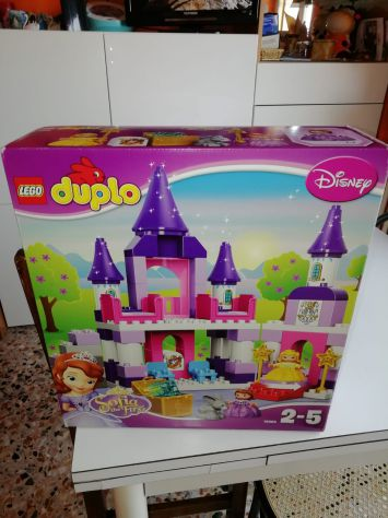 Lego Duplo Sofia la Principessa, Il Castello