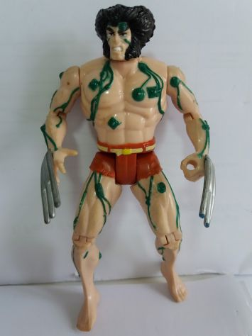 Wolverine action figure, 1992 marvel x - men