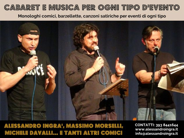 Attori comici per eventi in Valle D'Aosta