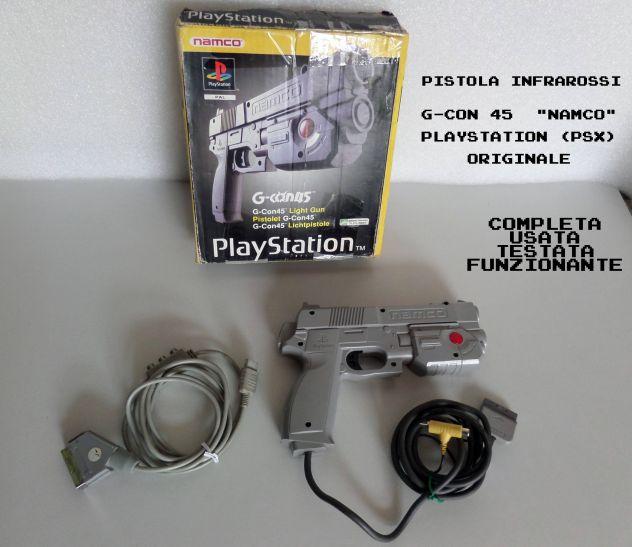 Pistola NAMCO G-CON 45 Playstation Originale, boxata