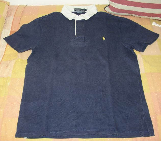 Polo by Ralph Lauren polo blu rugby manica corta