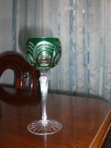 12 bicchieri cristallo Boemia lenticolari - Foto 4