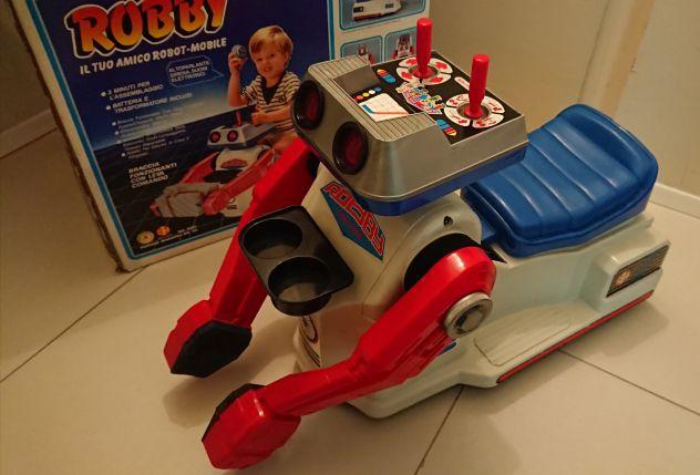 ROBBY ROBOT GIOCHI PREZIOSI ANNI 80