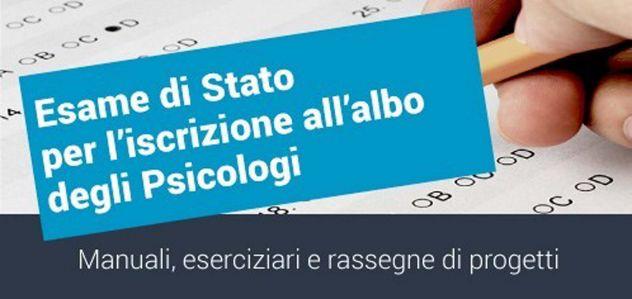 PSICOLOGIA ESAME DI STATO KIT MANUALE
