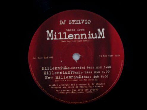 33 giri originale del 1997- DJ Stelvio theme of MILLENNIUM - Foto 3