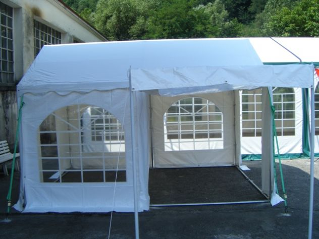 TENDONI GAZEBO 3 X 3 IN PVC GOLD QUALITY 550 GR. MQ. MM ITALIA - Foto 2