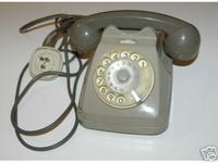 VENDO TELEFONO A ROTELLA SIP BIGRIGIO da collezione