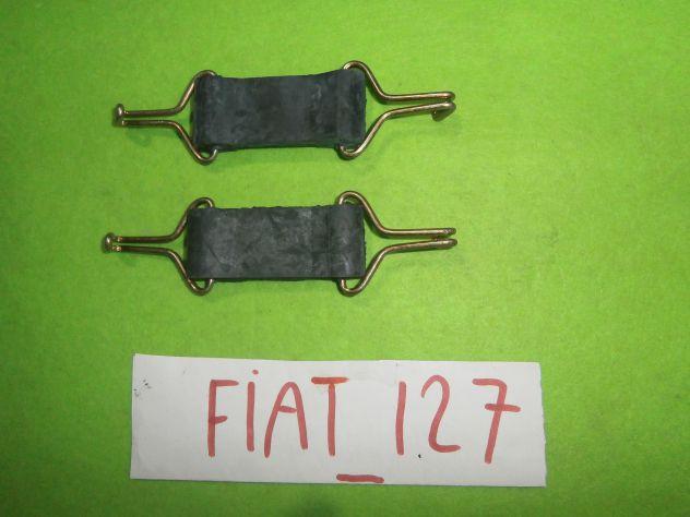Tiranti sostegno marmitta centrale Fiat 127 1°s prima serie L C CL SPORT &q … - Foto 3