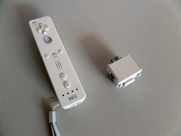 Controller Nintendo WII ORIGINALE + Motion (GUASTO) per ricambi - Foto 4