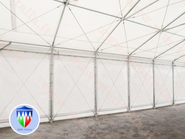 Tendoni 8 x 12 linea Impero qualitá Estrema per feste magazzino deposito - Foto 4