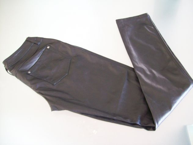 Pantaloni donna tipo pelle Terranova mis S Nuovi - Foto 3