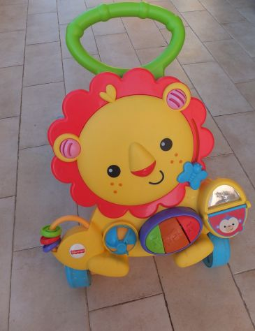 Leo-Leone Primi Passi Fisher Price