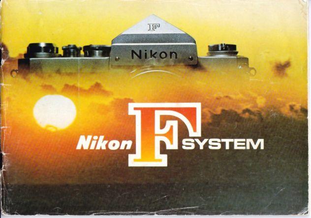 Brochure Nikon F 1974