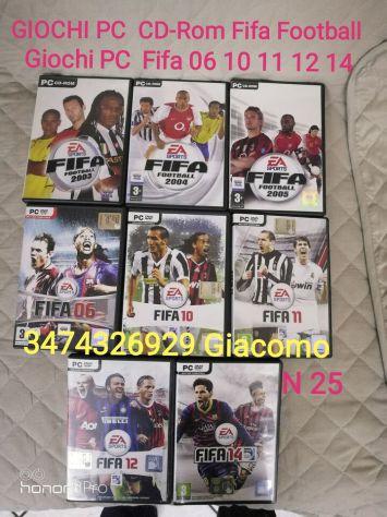 GIOCHI PC  FIFA Calcio e PS2